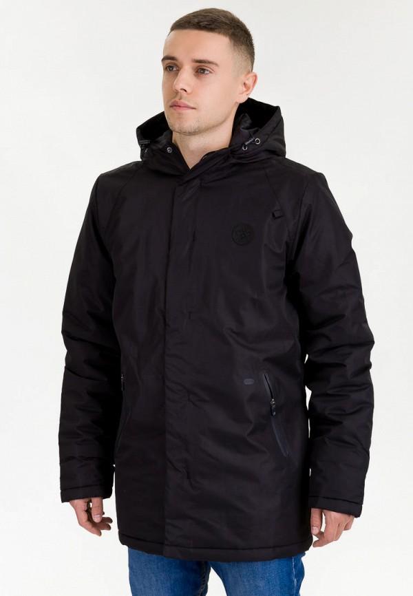 мужская куртка hummel, черная