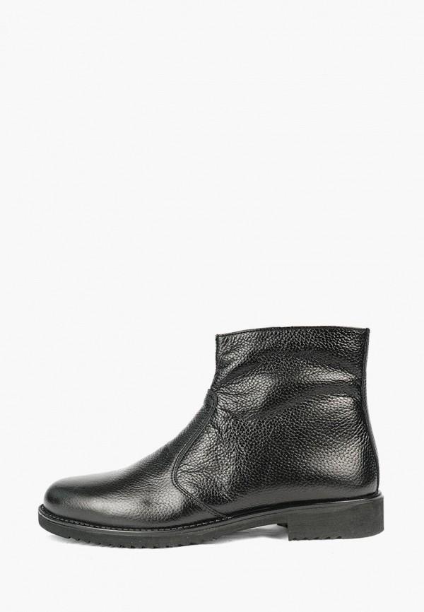 мужские полусапожки shoes republic, черные