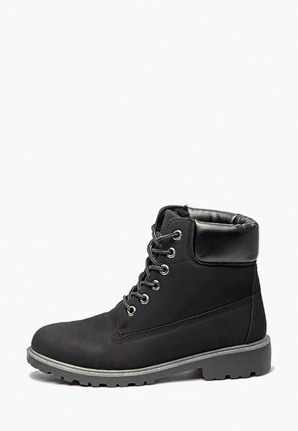 мужские ботинки react, черные