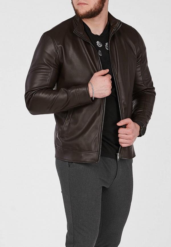 мужская куртка react, коричневая