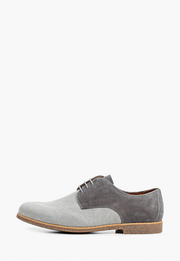 мужские туфли-дерби ralf ringer, серые