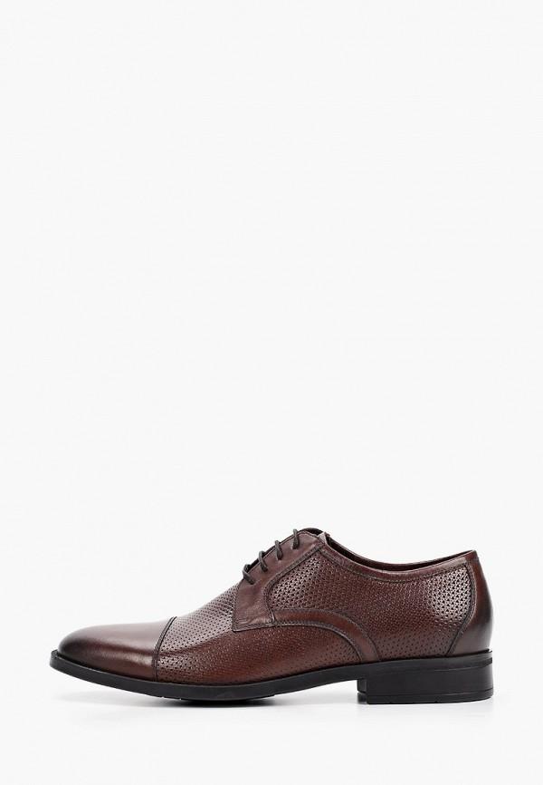 мужские туфли-дерби ralf ringer, коричневые