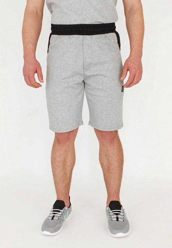мужские спортивные шорты hummel, серые