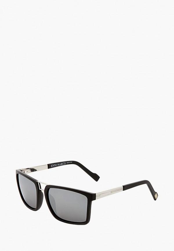 мужские солнцезащитные очки enni marco, черные