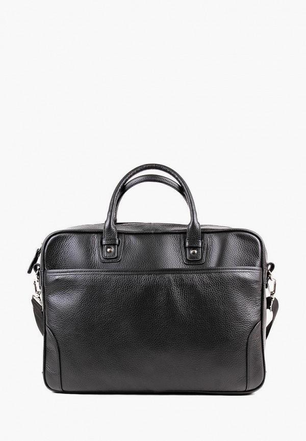 мужская сумка через плечо медведково, черная