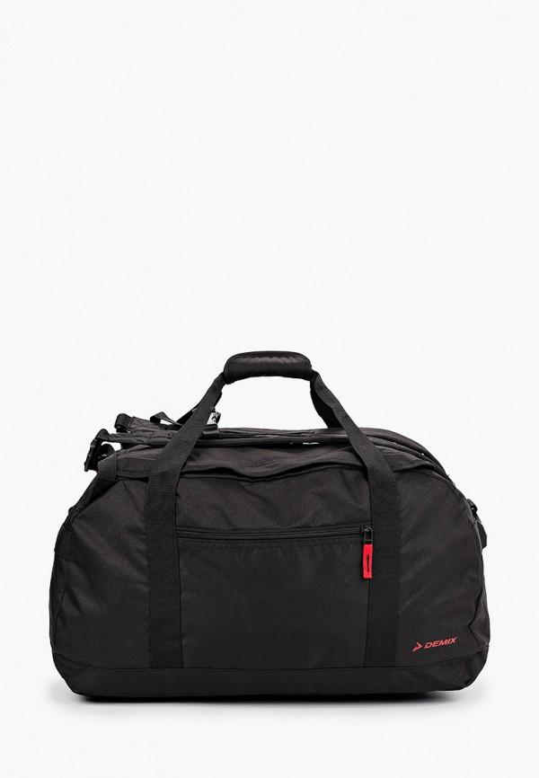 мужская спортивные сумка demix, черная