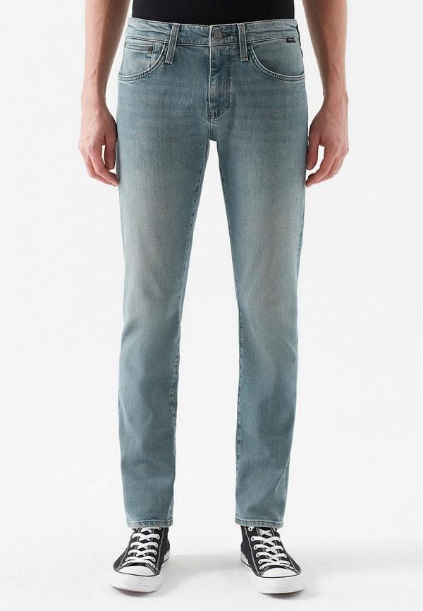 мужские прямые джинсы mavi, голубые