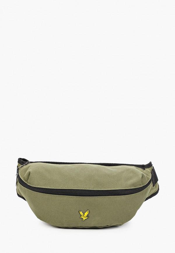 мужская поясные сумка lyle & scott, хаки