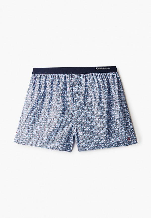 мужские трусы-шорты henderson, голубые
