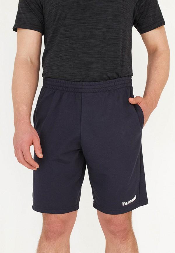 мужские спортивные шорты hummel, синие