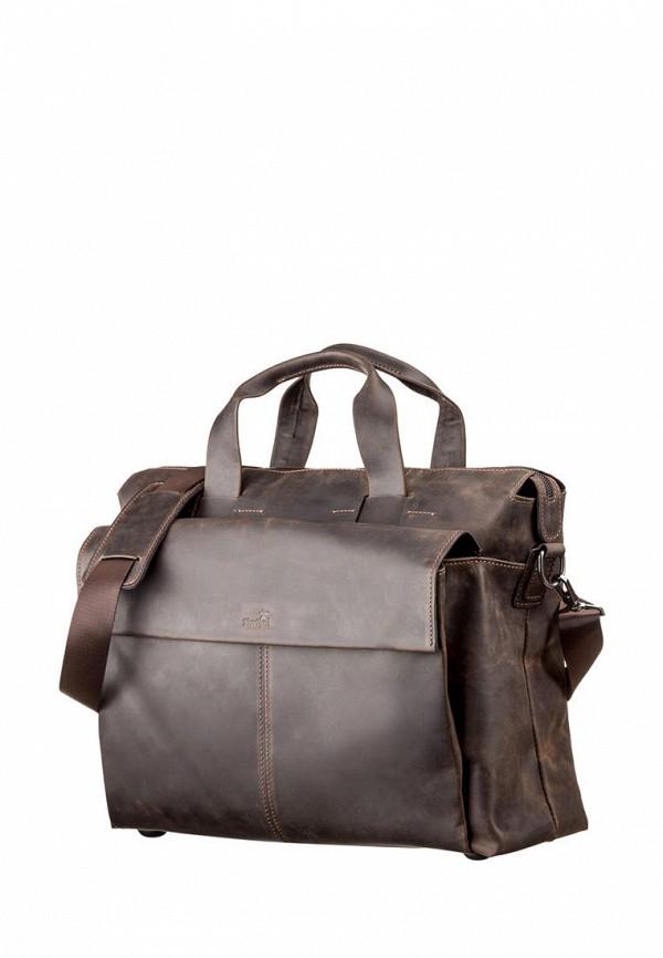 мужская сумка shvigel, коричневая