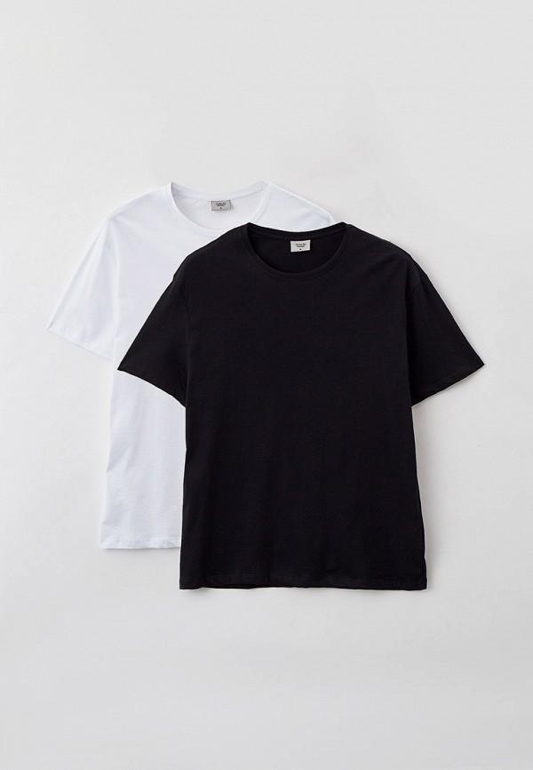 мужская футболка с коротким рукавом defacto, разноцветная