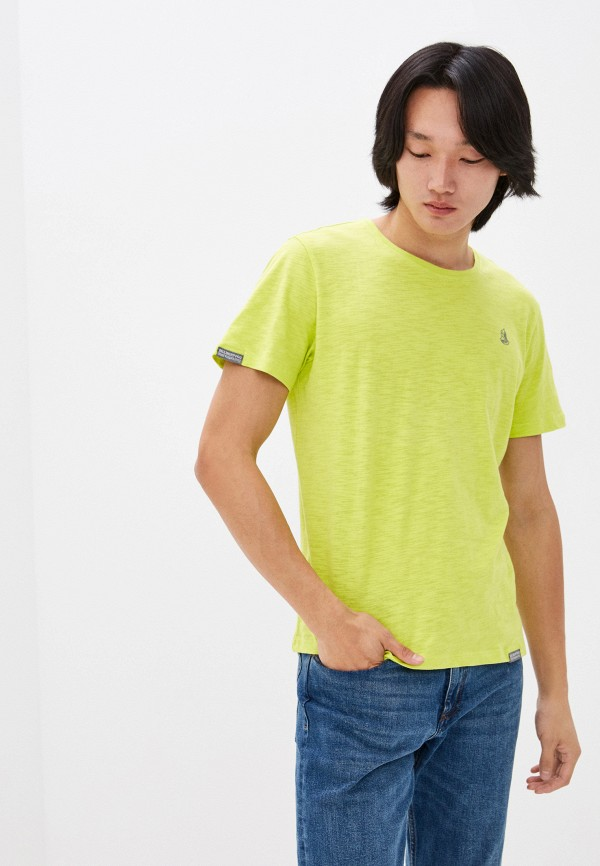 мужская футболка с коротким рукавом velikoross, зеленая