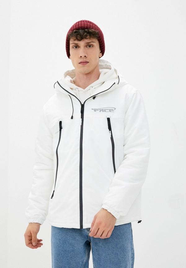мужская утепленные куртка befree, белая