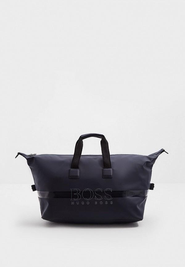 мужская дорожные сумка boss, синяя
