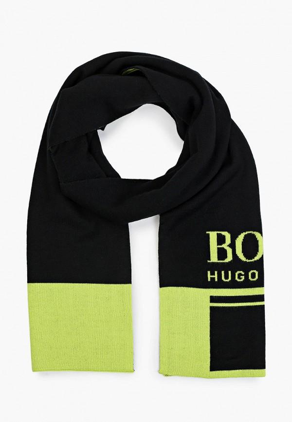 мужской шарф boss, зеленый