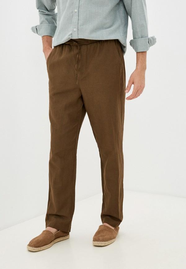 мужские брюки джоггеры mark formelle, коричневые