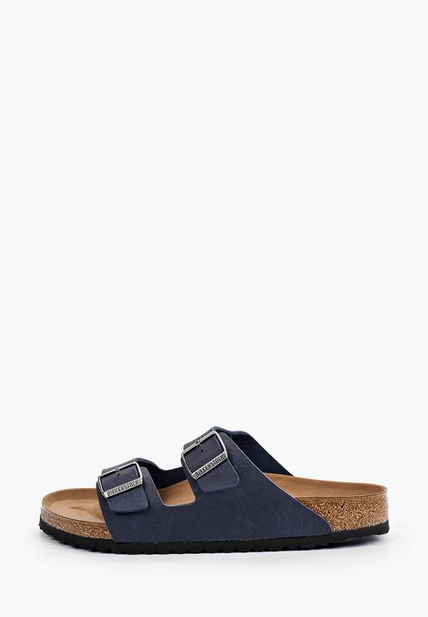 мужские сандалии birkenstock, синие