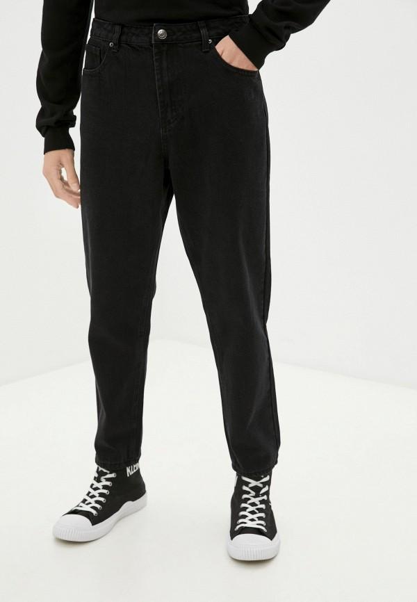 мужские прямые джинсы befree, черные