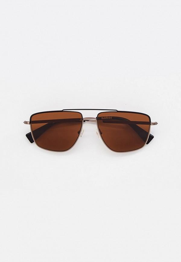 мужские авиаторы солнцезащитные очки baldinini, серебряные