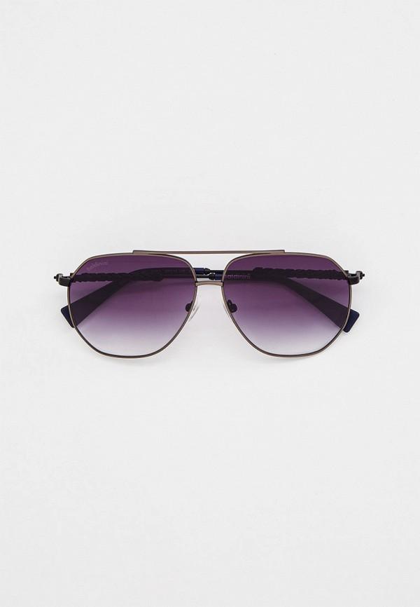 мужские авиаторы солнцезащитные очки baldinini, серые