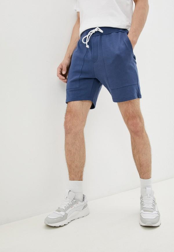 Шорты спортивные Brainwear синего цвета