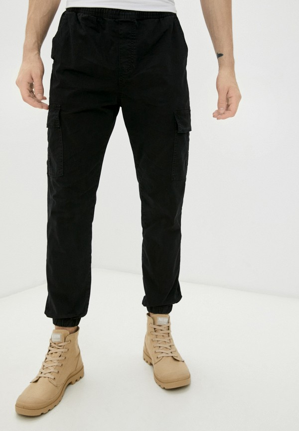 мужские брюки карго befree, черные