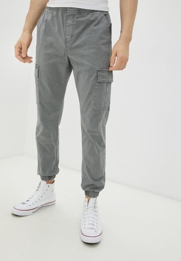мужские брюки карго befree, серые