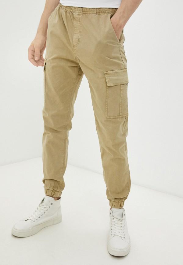 мужские брюки карго befree, бежевые