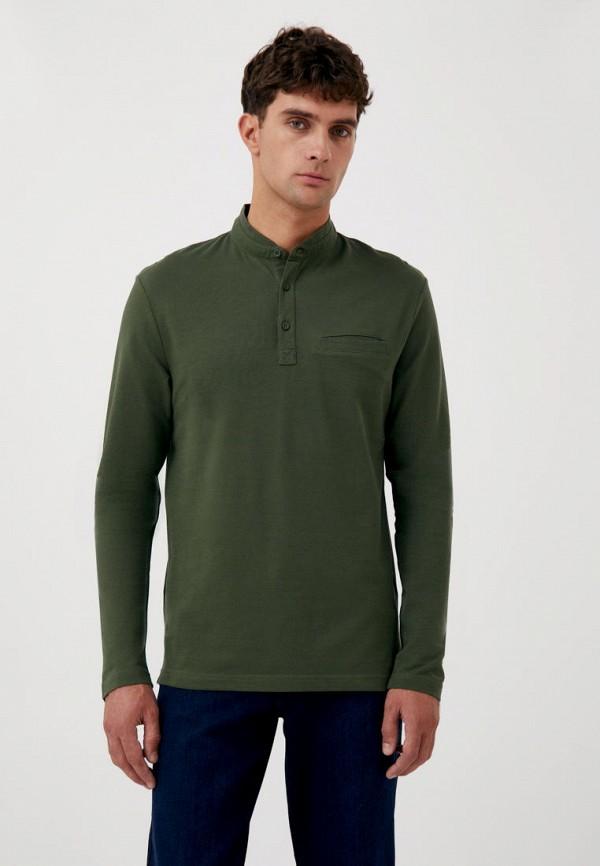 Лонгслив Finn Flare зеленого цвета