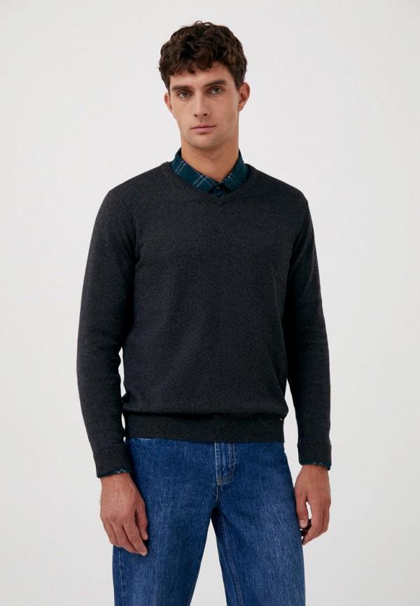 Пуловер Finn Flare черного цвета