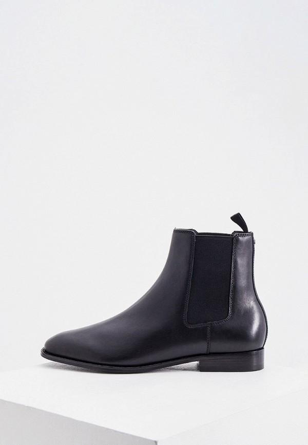 мужские ботинки-челси coach, черные