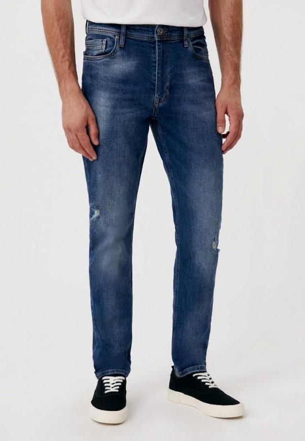 мужские прямые джинсы finn flare, синие