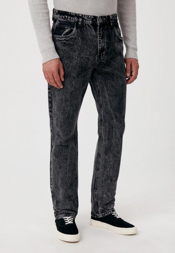 мужские прямые джинсы finn flare, серые