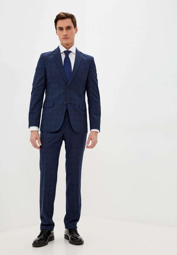 мужской классические костюм stenser, синий