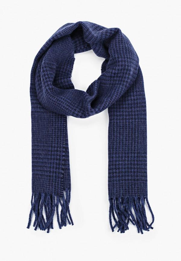 мужской шарф polo ralph lauren, синий
