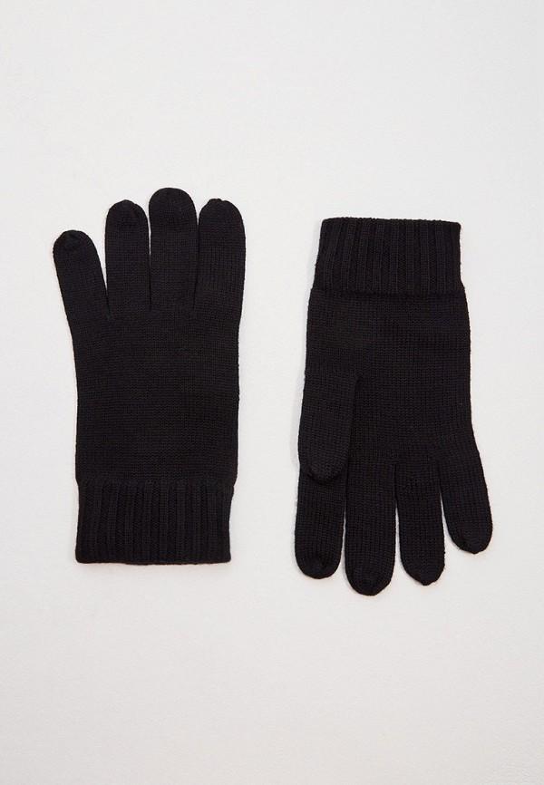 мужские текстильные перчатки polo ralph lauren, черные
