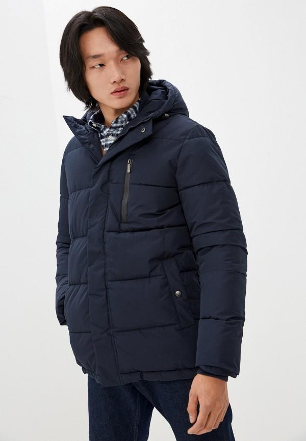 мужская утепленные куртка urban fashion for men, синяя