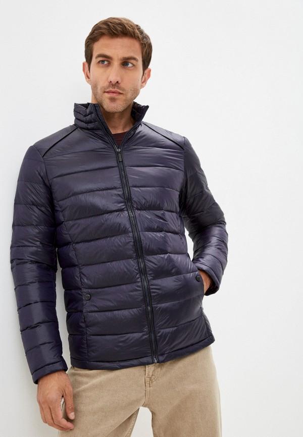 мужской пуховик urban fashion for men, синий