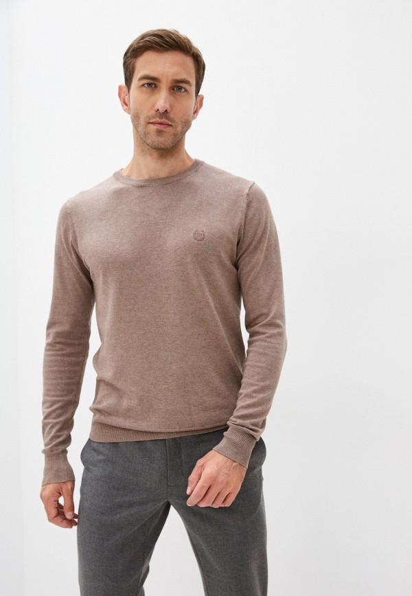 мужской джемпер al franco, коричневый