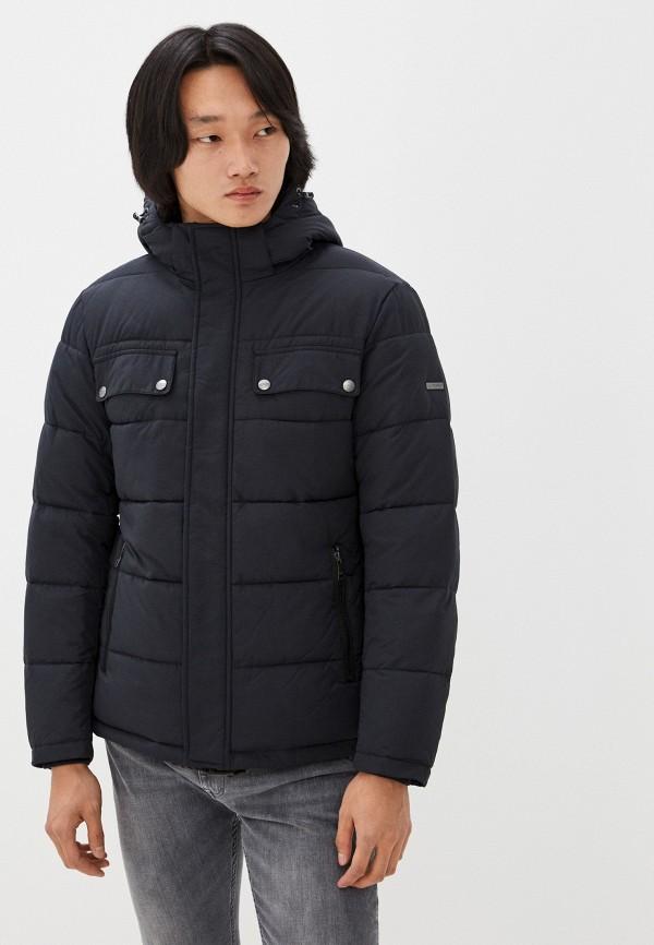 мужская утепленные куртка al franco, синяя