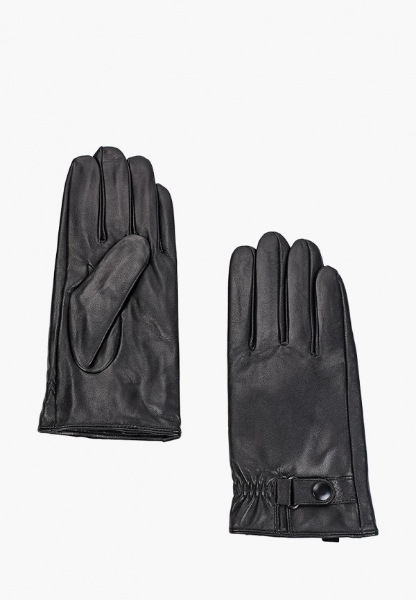 мужские кожаные перчатки mascotte, черные