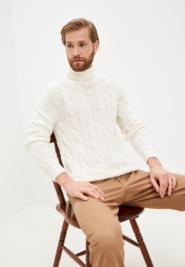 мужской свитер falconeri, белый