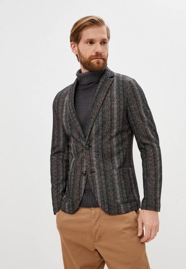 мужской пиджак falconeri, разноцветный