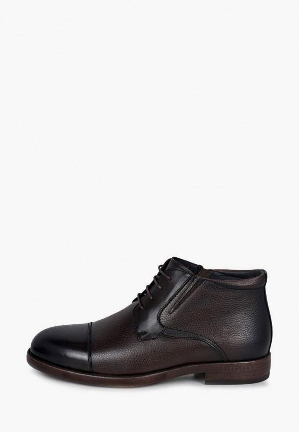 мужские высокие ботинки pierre cardin, коричневые