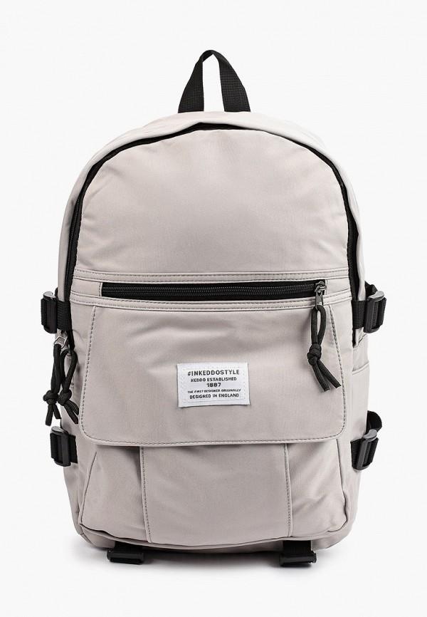 мужской рюкзак keddo, серый