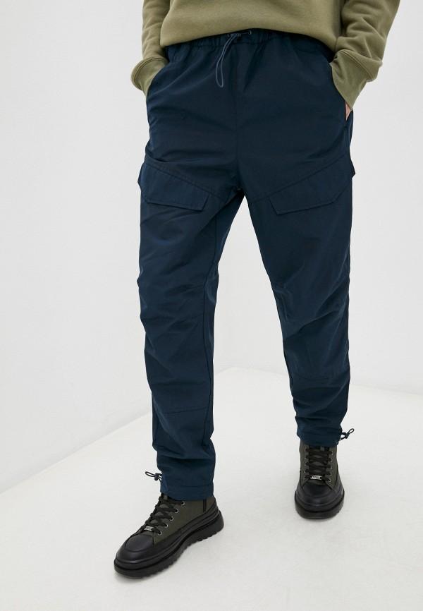 мужские брюки карго baon, синие