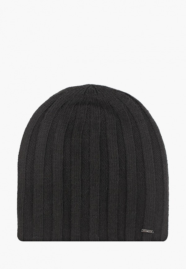 мужская шапка vitacci, черная