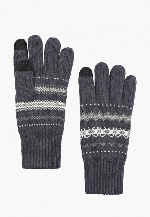 мужские текстильные перчатки henderson, серые