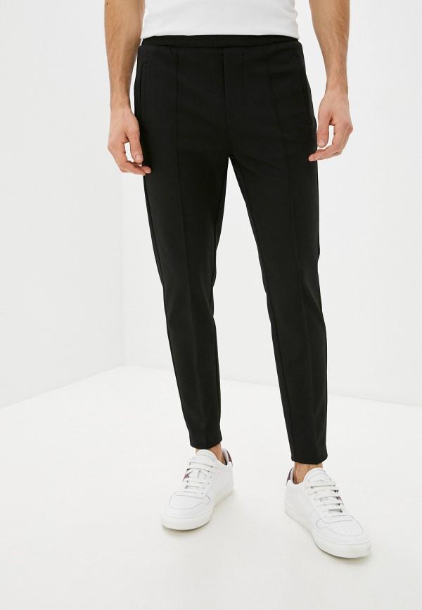 мужские брюки джоггеры colin's, черные